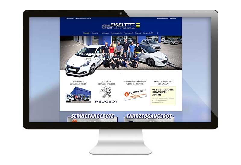 Die neue Webseite ist nun online