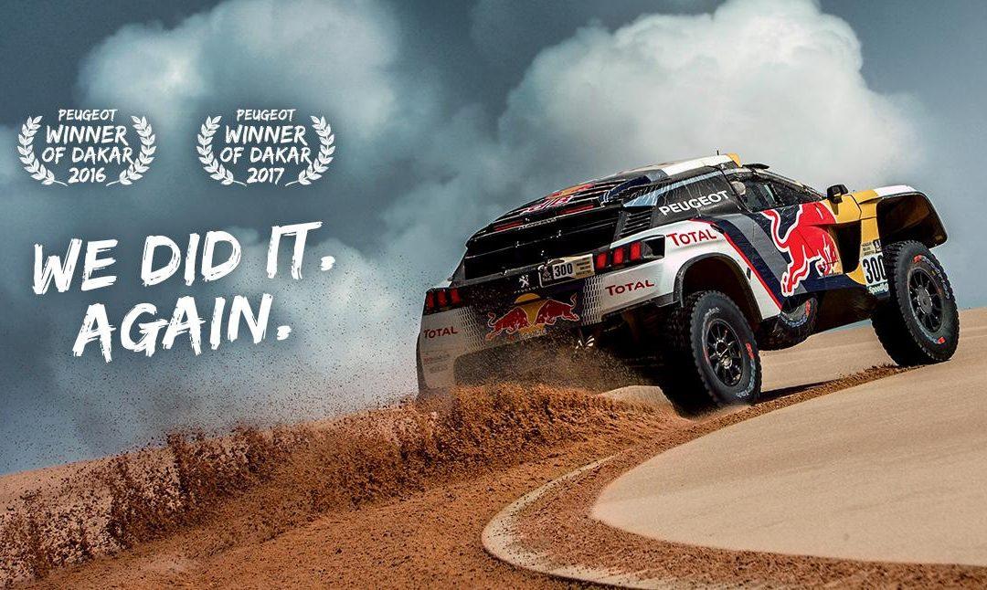 Dreifachsieg bei der Ralley Dakar