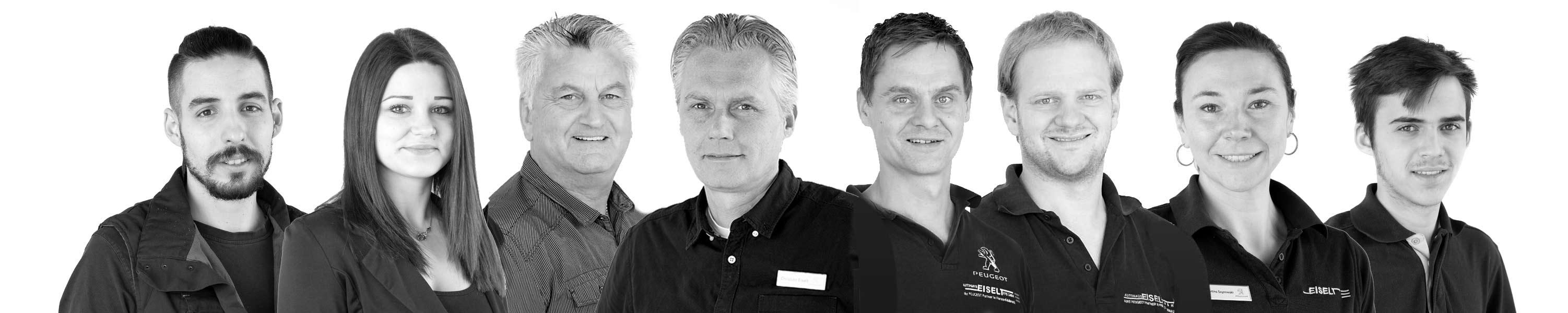 das Autohaus Eiselt FFB Team