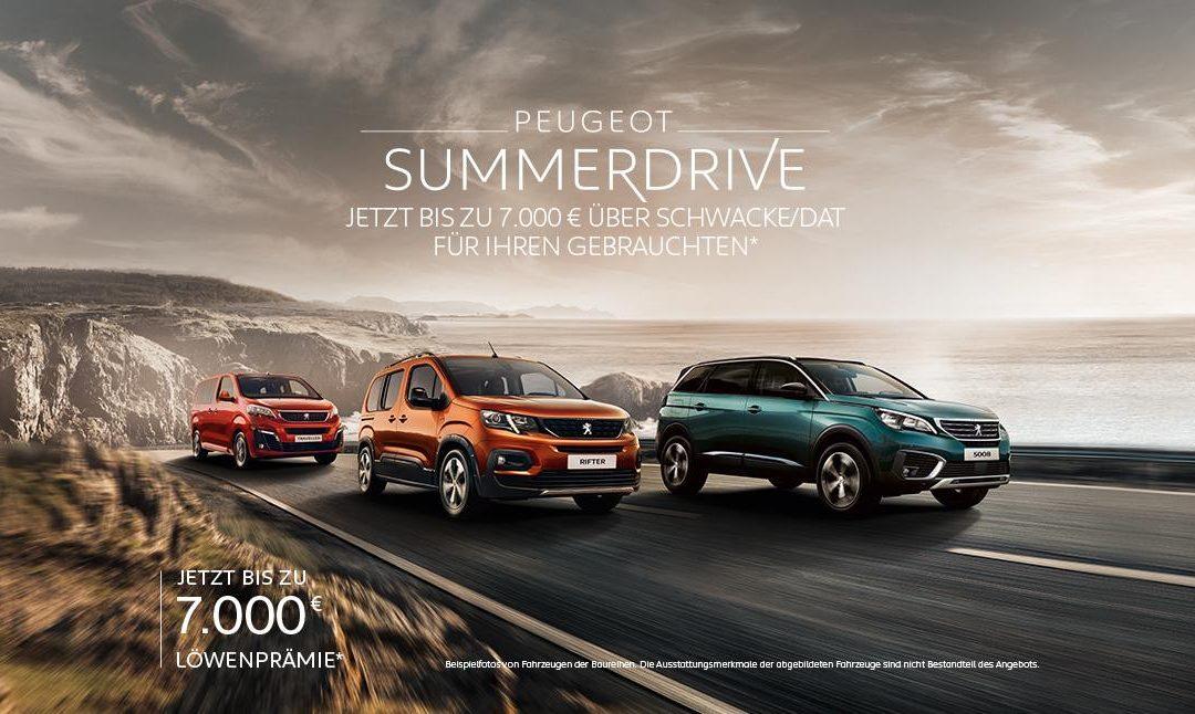 Peugeot Summerdrive