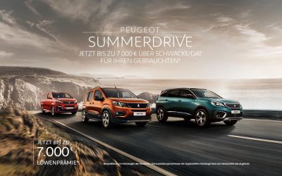 Peugeot Summerdrive
